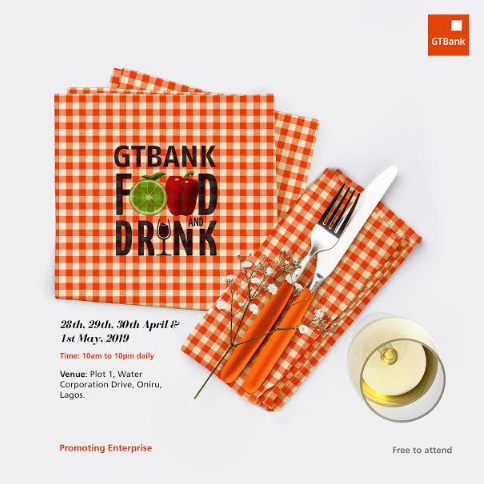 GTBank food and drinks 2019 | e-nigeriang
