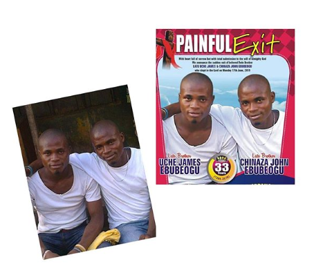 Twin brothers who died of strange illness buried | e-nigeriang.com - e-nigeria!