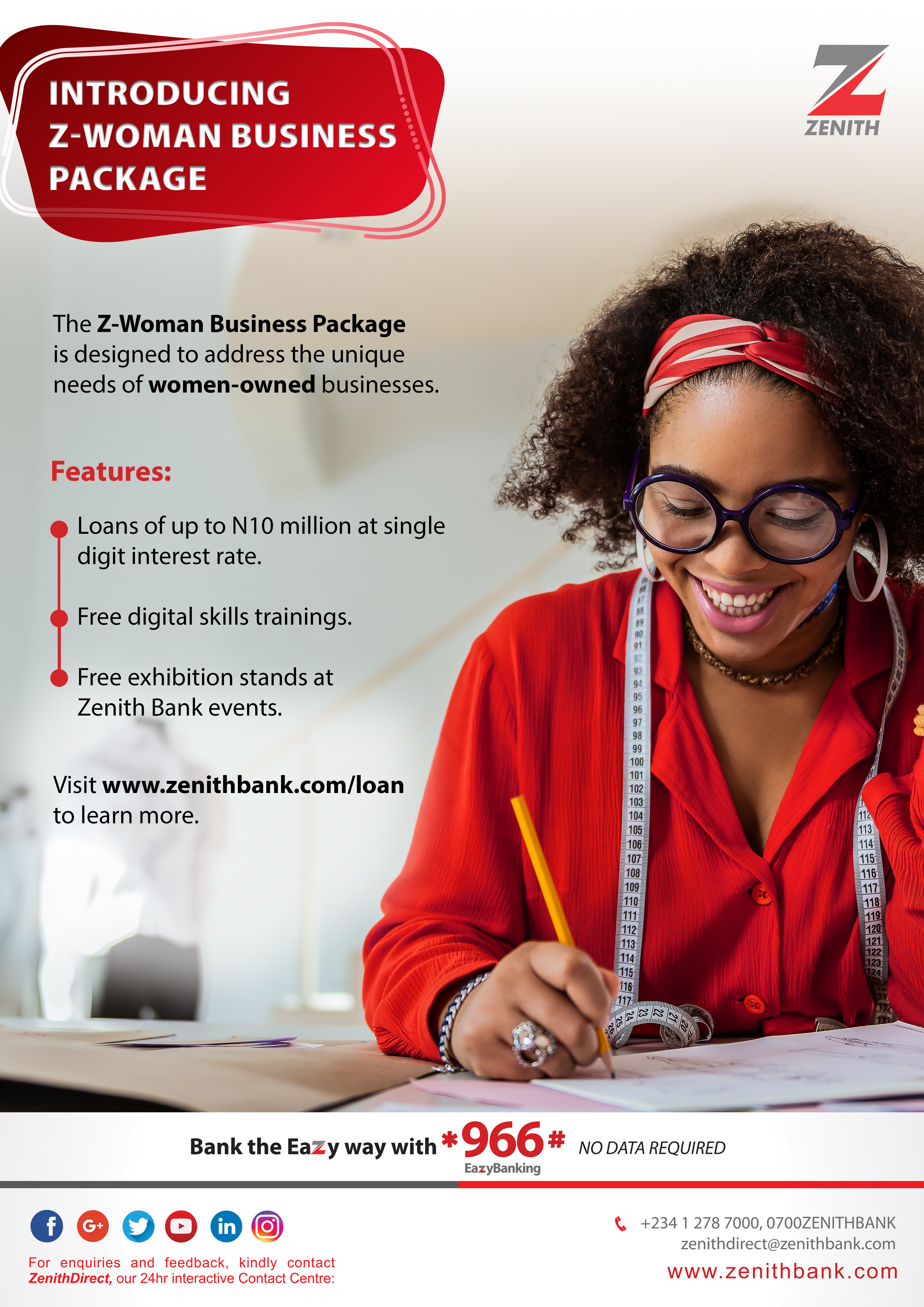 Zenith Bank is Empowering Women with Z-Woman | e-nigeriang.com