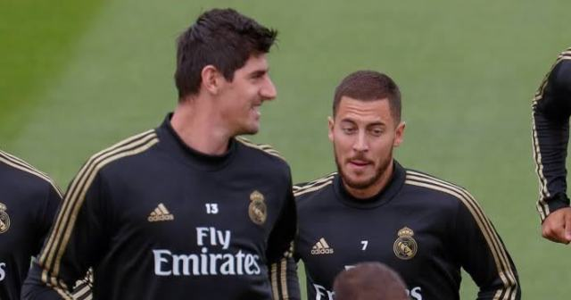 Courtois backs Hazard to explode at Real Madrid after injury woes