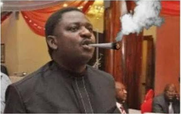 Caricature of Femi Adesina smoking weed | e-nigeria!