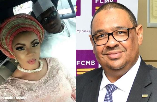 FCMB MD, Adam Nuru, Tunde Thomas and estranged wife, Moyo | e-nigeria!