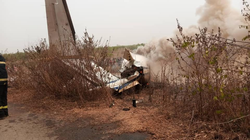 Air Force aircraft Crash Abuja airport | e-nigeria!