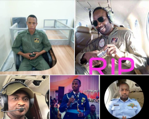 Air Force Officers who died at the Abuja Plane Crash | e-nigeria!