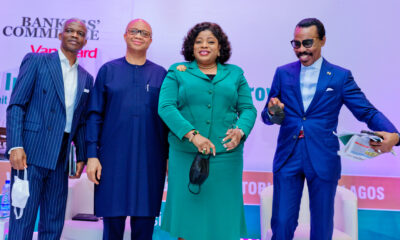 Dr. Doyin Salami, Ben Akabueze, Nneka Onyeali-Ikpe, Managing Director/CEO Fidelity Bank and Mr. Bismarck Rewane | e-nigeria!