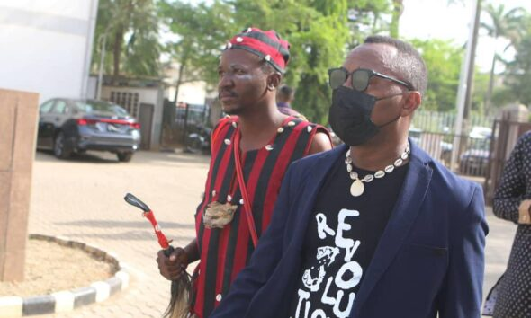 sowore-with-native-doctor | e-nigeria!