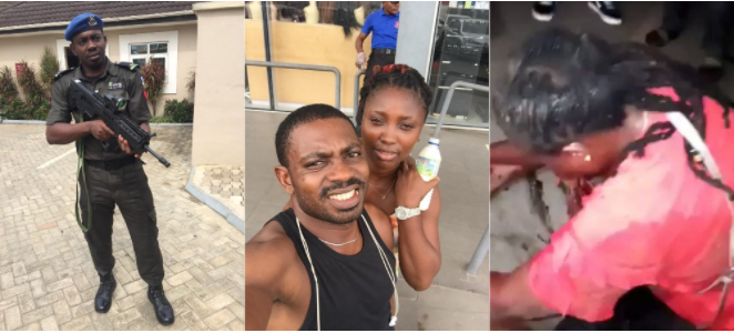 Sgt. Eze Aiwansoba shot girlfriend in the mouth