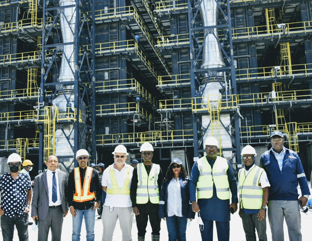 When Moman officials visited Dangote Refinery in Lagos