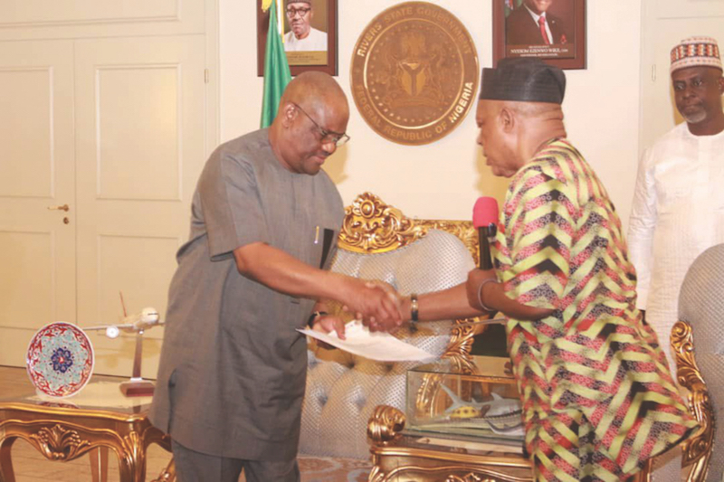 Why Wike, Others want PDP Chairman Uche Secondus immediately