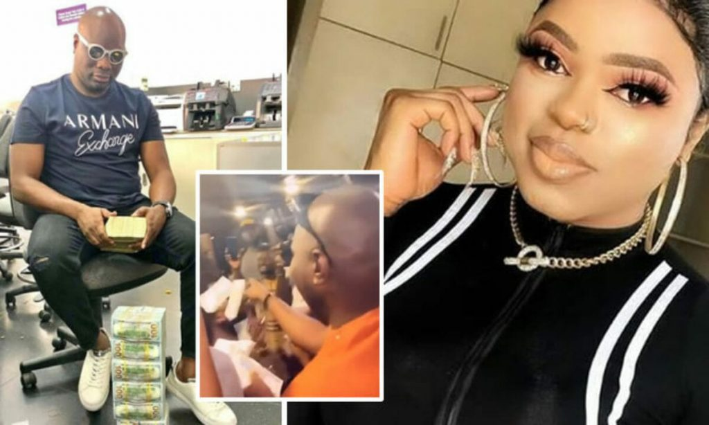 Mompha and Bobrisky fight dirty after their affair leaked